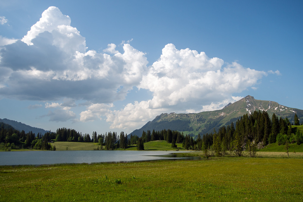 So stellen wir uns den Sommer vor: Häufig sonnig mit lokalen Gewittern gegen Abend im Bergland
