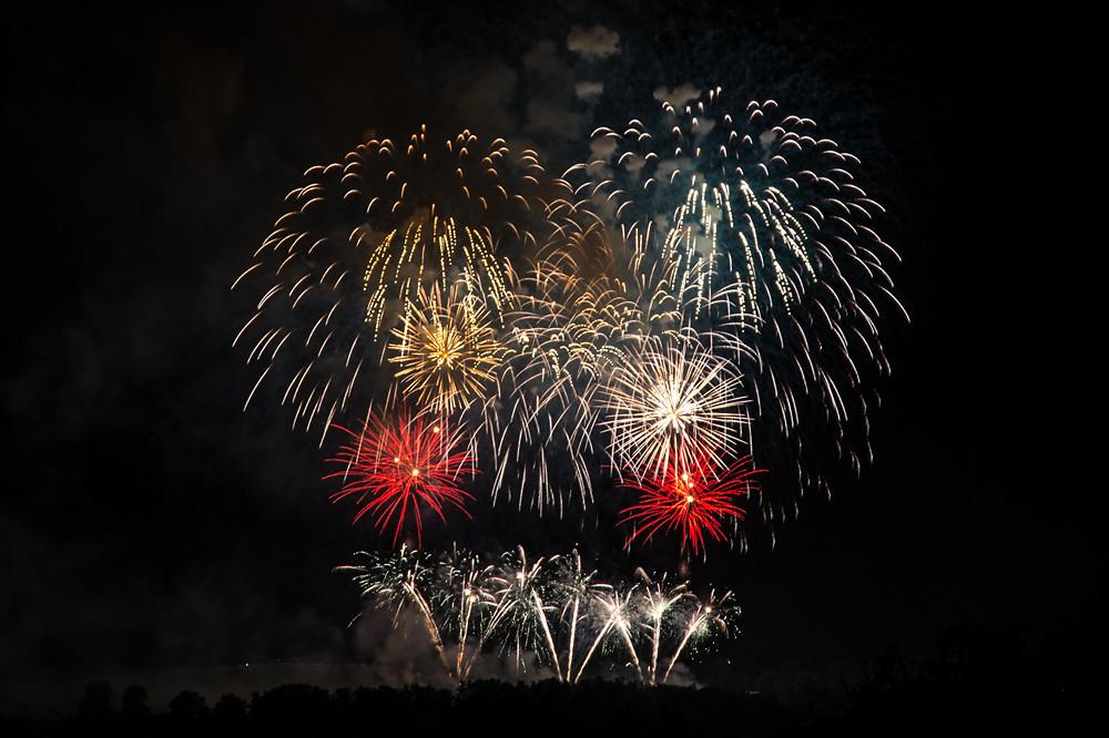 Dieses Jahr ohne Wetterkapriolen: 1. August-Feuerwerk auf dem Gurten bei Bern