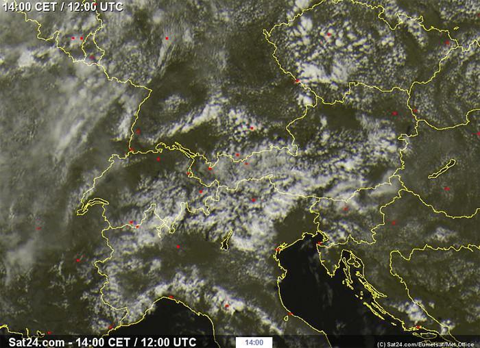 So soll es nach der Siebenschläfer-Regel nun 7 Wochen lang aussehen: sonnig, ein paar Quellwolken und vereinzelte Regengüsse im Bergland