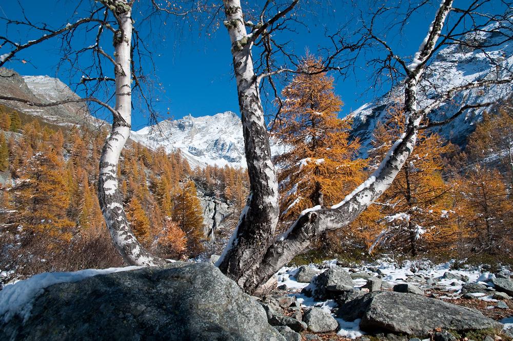 Val d'Anniviers, Wallis, Schweiz