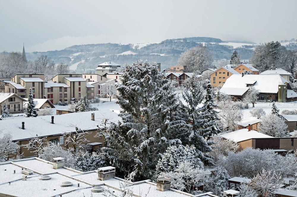 Allen Unkenrufen zum Trotz: So winterlich präsentierte sich dieser Monat nur an einzelnen Tagen, wie hier in Muri bei Bern am 8. März