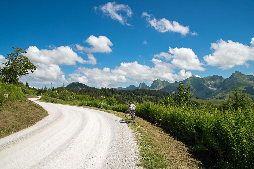 Im Juli stimmte dann endlich die Work-Live-Balance. Zwischen spannenden Gewitterlagen gab es immer wieder ruhige Tage, die wie hier für eine Radtour über den Gurnigel genutzt werden konnten.