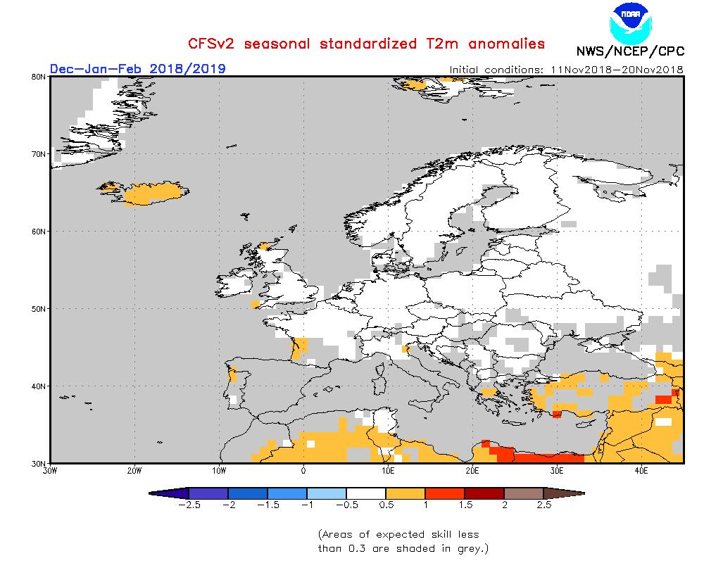 Starker Atlantik Gegen Kontinentalhoch Winterprognose 201819